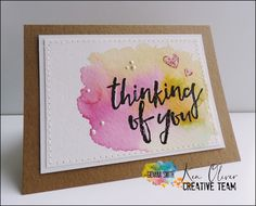 Believe: Thinking of you