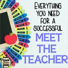 This post has so many tips, tricks, and ideas for meet the teacher!