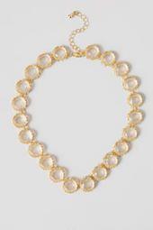 Delta Jeweled Necklace || Simple, yet beautiful! I could wear this with so much! #francescas