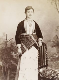 Ottoman Greek Girl from Trabzon, Folk Clothing, Greek Clothing, Greek Girl, Greek History, Greek Culture, Sexy Photography, Ottoman Empire, Dope Outfits, Greece