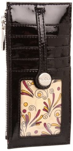Hobo  Metro Slide Credit Card Case,Black,one size Hobo. $63.95