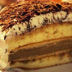 My all time favorite tiramisu cake recipe