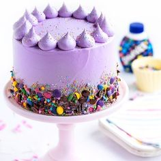 WEBSTA @ sweetapolita - It's a Smarties Cake kind of day!  #HowDoYouSmarties? #SMARTIES @smarties_ca