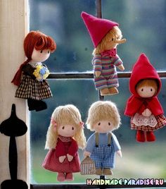 revista japonesa com padrões de bonecas têxteis