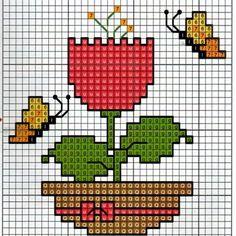 123 Cross Stitch, Cross Stitch Beginner, Cross Stitch For Kids, Cross Stitch Cards, Beaded Cross Stitch, Cross Stitch Flowers, Cross Stitching, Cross Stitch Embroidery, Cross Stitch Patterns