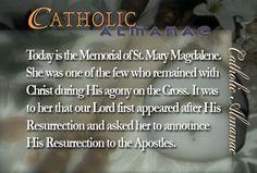 #SaintMaryMagdelene #prayforus
