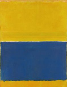 Rothko Blue and Yellow - Matching colours has been a tempting subject from centuries. As Goethe did in the 19th century we are going to dive into the art of matching tones to create wonderful photographs