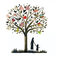 I don't know why, but this makes me think of the giving tree.