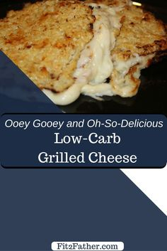 Make a keto low-carb grilled cheese by using cauliflower bread instead of actual bread. Tastes even better than the real thing and it's so great for those in frugal living!
