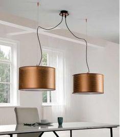 Comprar online Lámpara de Techo con dos pantallas Colección PERFO Lighting, Ideas, Home Decor, Contemporary Style, Hanging Lamps, Screens, Ceiling Light Fixtures, Home, Decoration Home