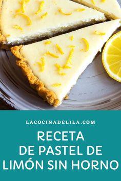 Aprende a hacer este delicioso pastel de limon y galletas. Es un postre especial y refrescante para comidas copiosas sobre todo en verano, pruébalo y ya me dirás que te ha parecido #postres #lacocinadelila