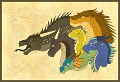 When the war has lasted twenty years... the dragonets will come. When the land is soaked in blood and tears... the dragonets will come. Find the SeaWing egg of deepest blue. Wings of night will com...