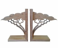 Acacia Bookends made from re-constituted plywood and white perspex. Acacia, Yellow Flowers, Plywood, Bookends, Relax, African, Lifestyle, Collection, Products