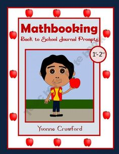Back to School Mathbooking - Math Journal Prompts (1st and 2nd grade)