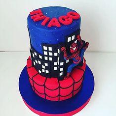 Spiderman  Cake Spiderman, Cake, Kids, Spider Man, Young Children, Boys, Kuchen, Children, Torte