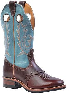 Western Cowboy Boots I Love by Boulet