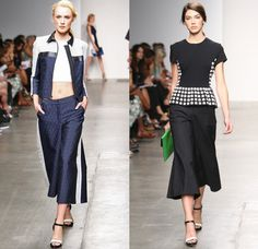 Wide-leg pants all the vogue in Korea
