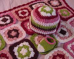 Ravelry: Granny Square Baby Blanket pattern by Kristin Spurkland