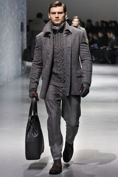 Corneliani - Men Fashion Fall Winter 2012-13 - Shows - Vogue.it