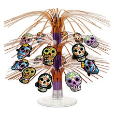 Day of the Dead Mini Cascade Centerpiece - My Sugar Skulls