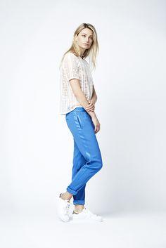 The Suzu top with Eglan pants.  Fashion // clothing // woman // inspiration // www.dante6.com