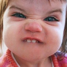 Funny Baby Faces, Funny Baby Pictures, Face Pictures, Funny Reaction Pictures, Funny Babies, Funny Kids, Funny Images, Funny Photos, Baby Photos