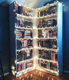 Bookshelves/lighting