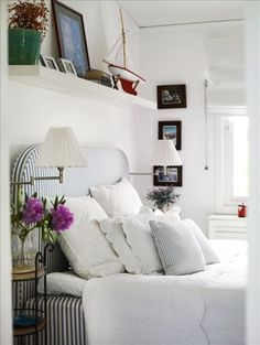 You cant help but love the simple, understated American casual living with washed out linens, stripes, checks and ticking. Casual ...