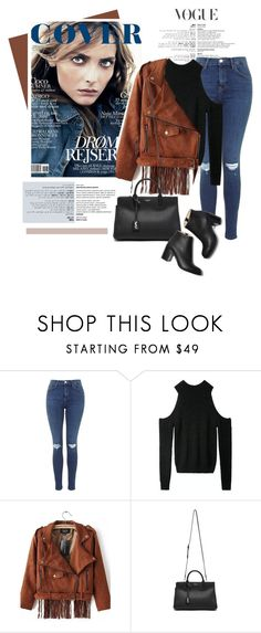 """""""Suede jackets"""" by genuine-people ❤ liked on Polyvore featuring Yves Saint Laurent and Paul Andrew"""