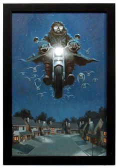 Invitation to adventure, Bill Perkins - I love even the name of this one! Hagrid love from the HP art exhibition