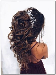 hairstyles party easy \ hairstyles party - hairstyles party wedding - hairstyles party nightclub - hairstyles party curls - hairstyles party night - hairstyles party half up - hairstyles party prom - hairstyles party easy Quince Hairstyles, Down Hairstyles, Easy Hairstyles, Prom Hairstyles, Hairstyles Videos, Wedding Hairstyles For Long Hair, Wedding Hair And Makeup, Christmas Party Hairstyles, Quinceanera Hairstyles