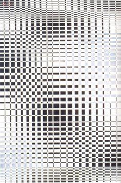 black/white pixelish thing