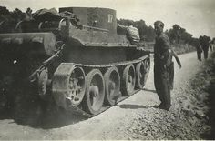 Spain - 1937. - GC - Thälmann brigade - tanks