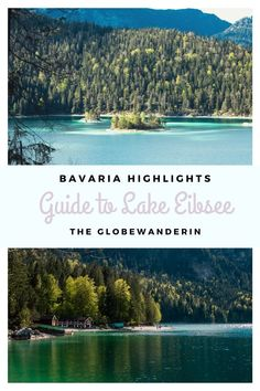 Visit the beautiful Lake Eibsee in Germany with its shimmering water and mountain scenery. In this guide to Lake Eibsee Bavaria, you can find everything you need to know for a visit to Lake Eibsee, the most beautiful lake in Germany! A Guide to Lake Eibsee Bavaria - The Most Beautiful Lake in Germany - The Globewanderin