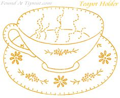 Vintage Potholder Pattern Collection : TipNut.com
