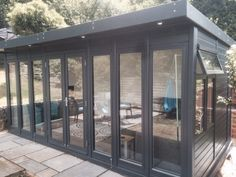painted pent summer house - Google Search