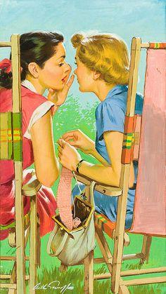 Trendy Vintage Posters Women Pin Up Girls Illustrations Images Vintage, Photo Vintage, Vintage Love, Vintage Pictures, Vintage Ads, Pin Up Retro, Retro Art, Art And Illustration, Girl Illustrations