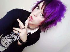 Purple hair :0