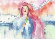 "Saatchi Art Artist Sylvia C Sosnovska Art; Painting, ""Follow Me"" #art"