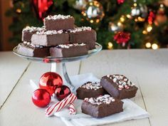 A year-round favorite treat gets a delicious update for the holidays. Add the flavors of chocolate and peppermint to crisp rice treats before packaging them as homemade gifts for family and friends.