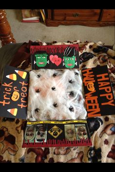 My Halloween care package!!!