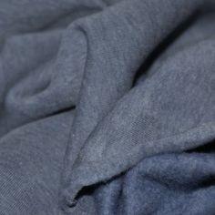 Sweatstoff Jeans Meliert Angeraut