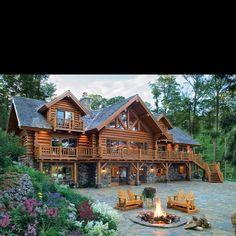 Log cabin :) dream home
