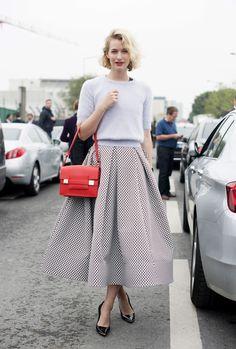 Die schönsten und inspirierendsten Street-Styles der Fashion Week in Paris Frühjahr/Sommer 2014