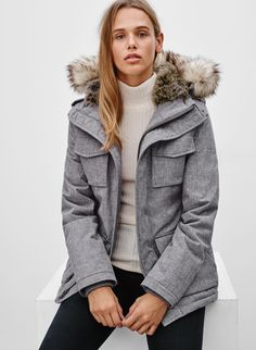 <p>A winter-ready parka for when you need to take on the cold</p>