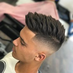 It is not uncommon that guys stick with the same old haircut and hairstyle for years. Why is that? With barbers and hairdressers creating cool new types of men's hairstyles and haircuts for men every single day, you could actually�