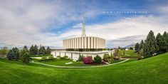 Provo Temple A Place Of Peace - A peaceful summer afternoon at the Provo Utah…