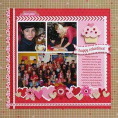 A Doodlebug Sweethearts Layout by Mendi Yoshikawa - Scrapbook.com