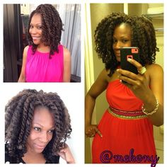 Meko's Mane  Kinky Crochet....A Two-In-One Style  You can wear it as Chunky Twist or Chunky Twist Out or Both!!!! #mekony #mekonewyork #naturalupdo #naturalstyles #teamnatural_ #teamnatural #protectivestyles #trialsntresses #4chair #4chairchicks #tobnatural #essencemag #urbanhairpost #naturalhairdoescare #naturalhaircare #cfyh_uk #curlynikki #lovingyourhair #keepinitkurly #healthy_hair_journey #naturallyshesdope #naturalhairkids #theblackhairguru #Padgram