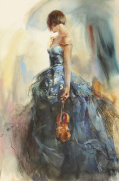 I adore this - makes me want to take up the violin!    Solo by Anna Razumovskaya